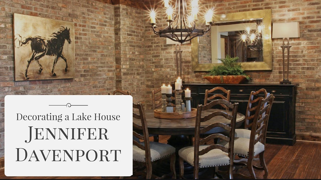 decorating a lake house from jennifer davenport diy