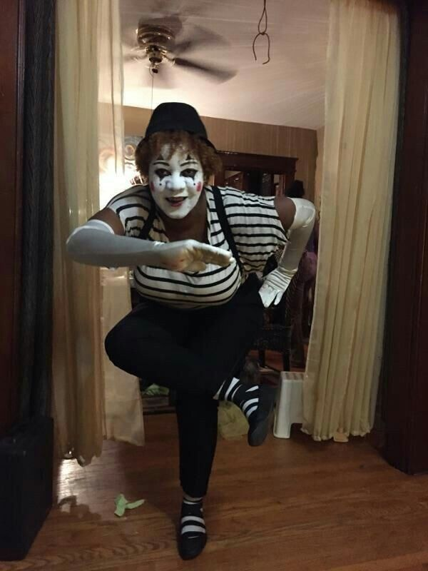 I pinned this costume from Marie 2 months ago and created it last night. Didn't win best costume but differently was a hit
