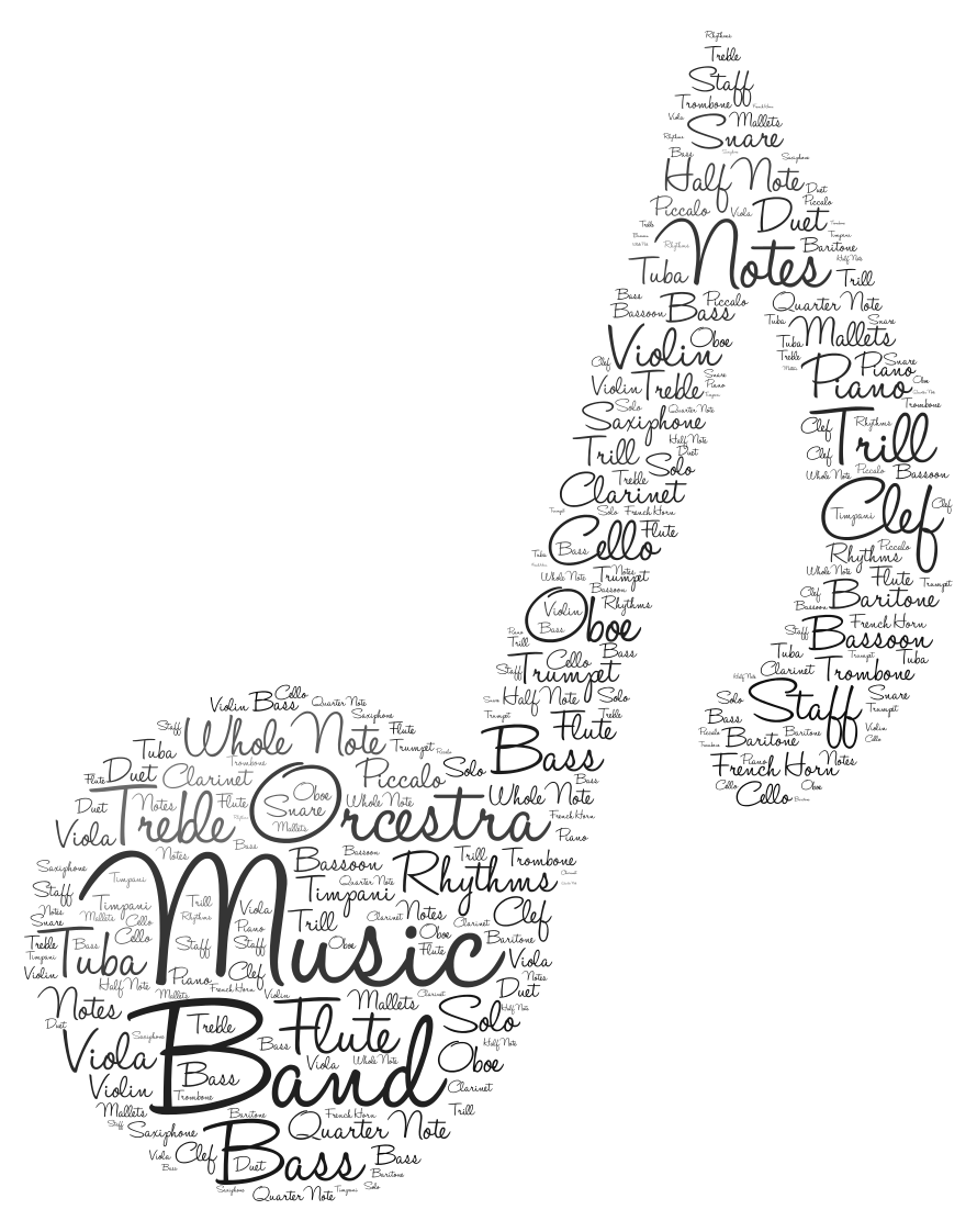 Word Cloud Art Created With Tagul Graphic Design