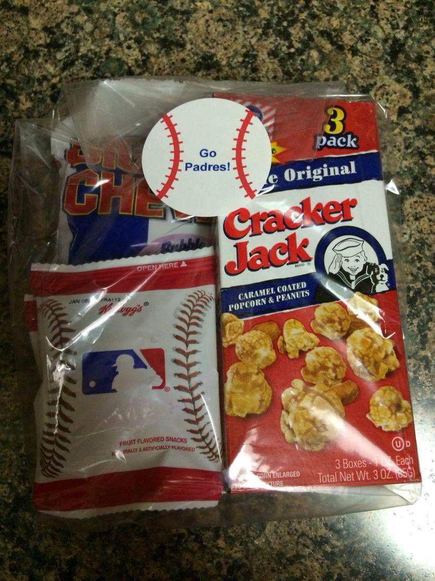 Baseball playoff treats