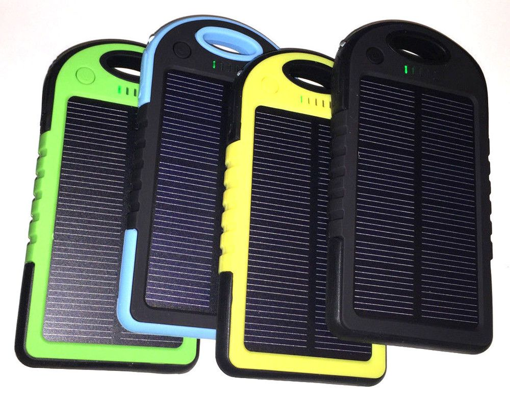 5000mah Usb Solar Panel Power Bank Charger External Battery Pack For Cell Phones Cell Phones Accessories External Battery Pack Power Bank Charger Powerbank