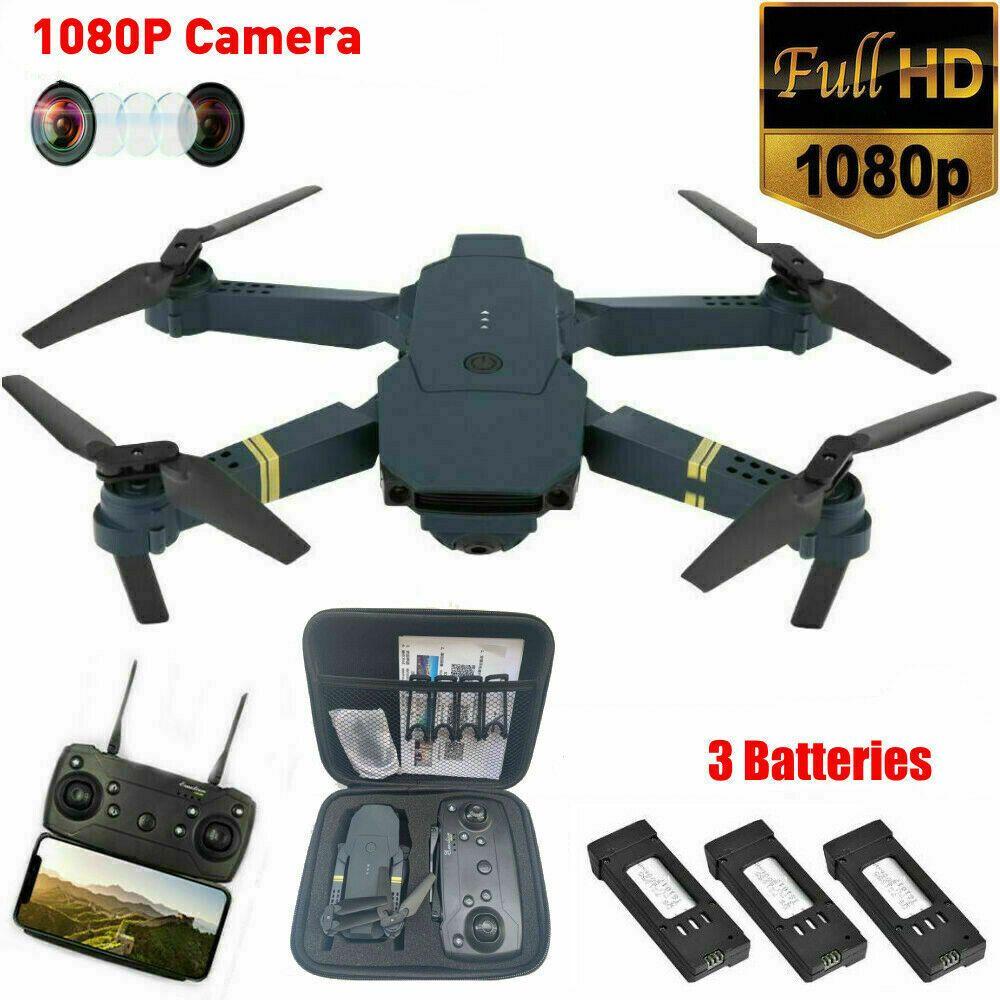 Drone X Pro Wifi Fpv 1080p Hd Camera 3 Batteries Foldable Selfie Rc Quadcopter In 2020 Drone Camera Hd Camera Quadcopter