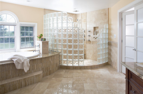 8 Stylish Shower Enclosure Ideas For Your Dream Bathroom In 2020 Inexpensive Bathroom Remodel Glass Block Shower Shower Enclosure
