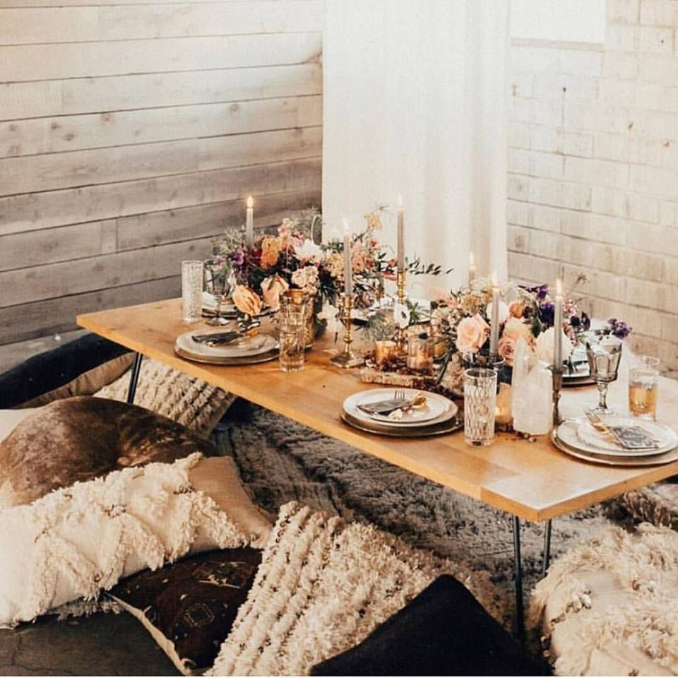Rustic Chic Wedding Shoes: What A Cosy Rustic Chic Table Styling