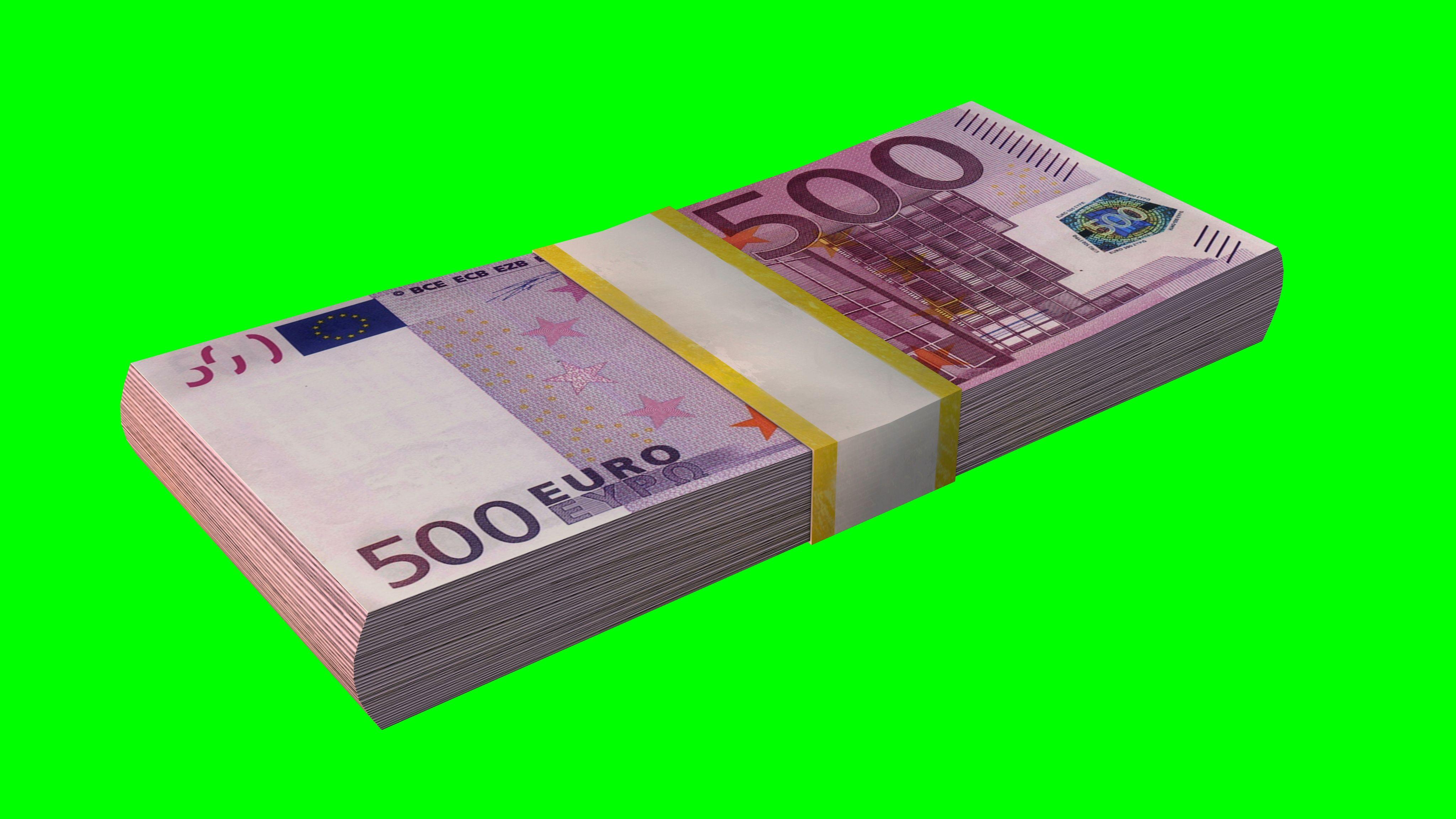 Money Stacks Euro Loop Stock Footage Euro Stacks Money Footage