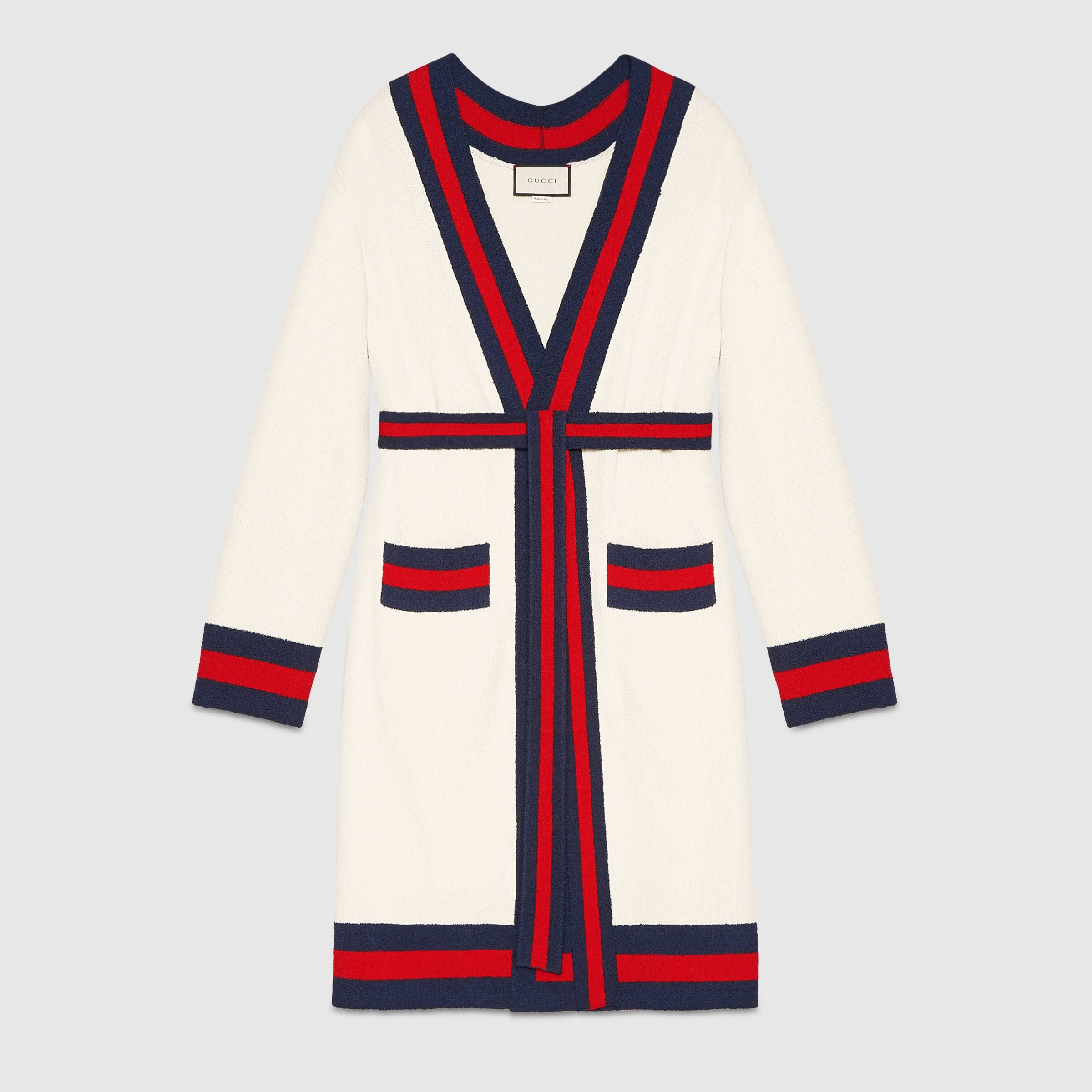 e534042623fe3 Embroidered oversize cardigan - Gucci Women s Sweaters   Cardigans  457437X7A059240