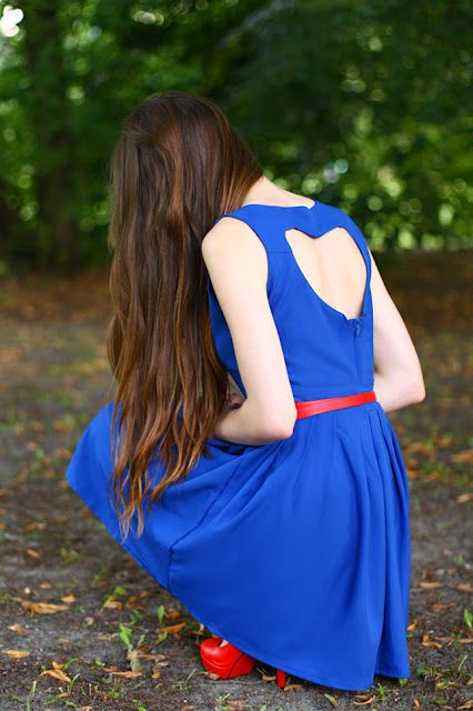 Heart In The Back Well Dressed Dresses Geeky Fashion