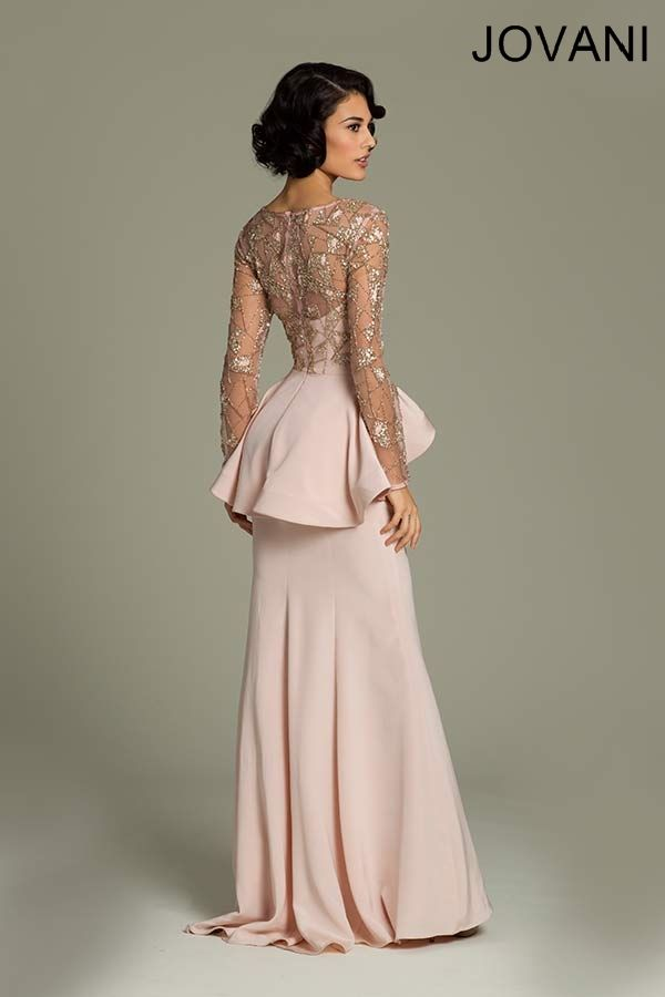 6a12cb58b3 I would absolutely rock the hell out of this gown! Long Sleeve Evening  Dresses