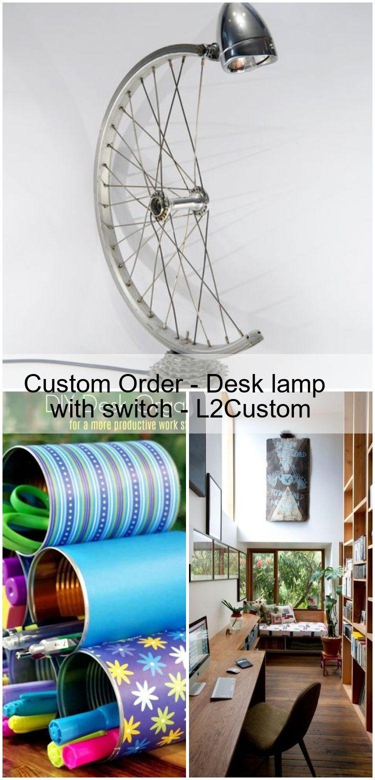 Custom Order  Desk lamp with switch  L2Custom Custom Order  Desk lamp with switch  L2Custom