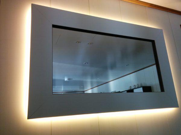 Wohnzimmerspiegel Selber Bauen Wohnzimmer Spiegel Beleuchteter