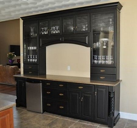 Built In Kitchen Hutch Designs   Bing Images