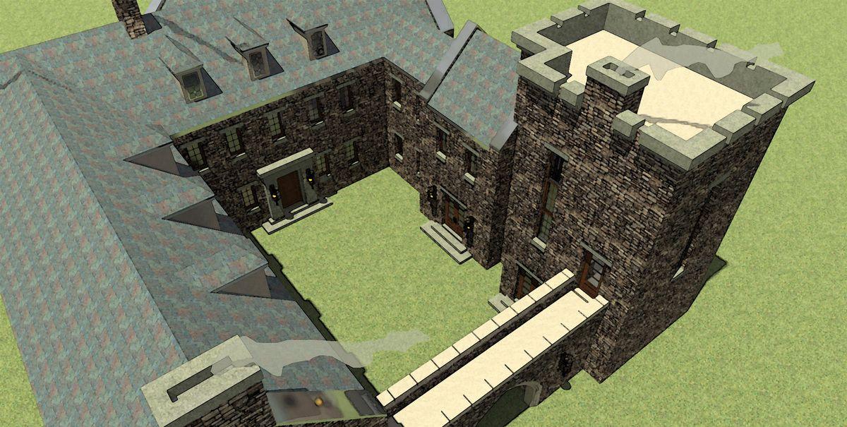 Plan 44071td Scottish Highland Castle Castle House Plans Castle Plans Castle House