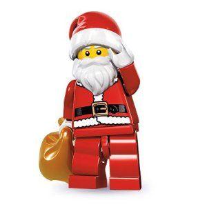 LEGO-Minifigures Série X 1 Santa Sac pour le père de Série de Noël 8 8