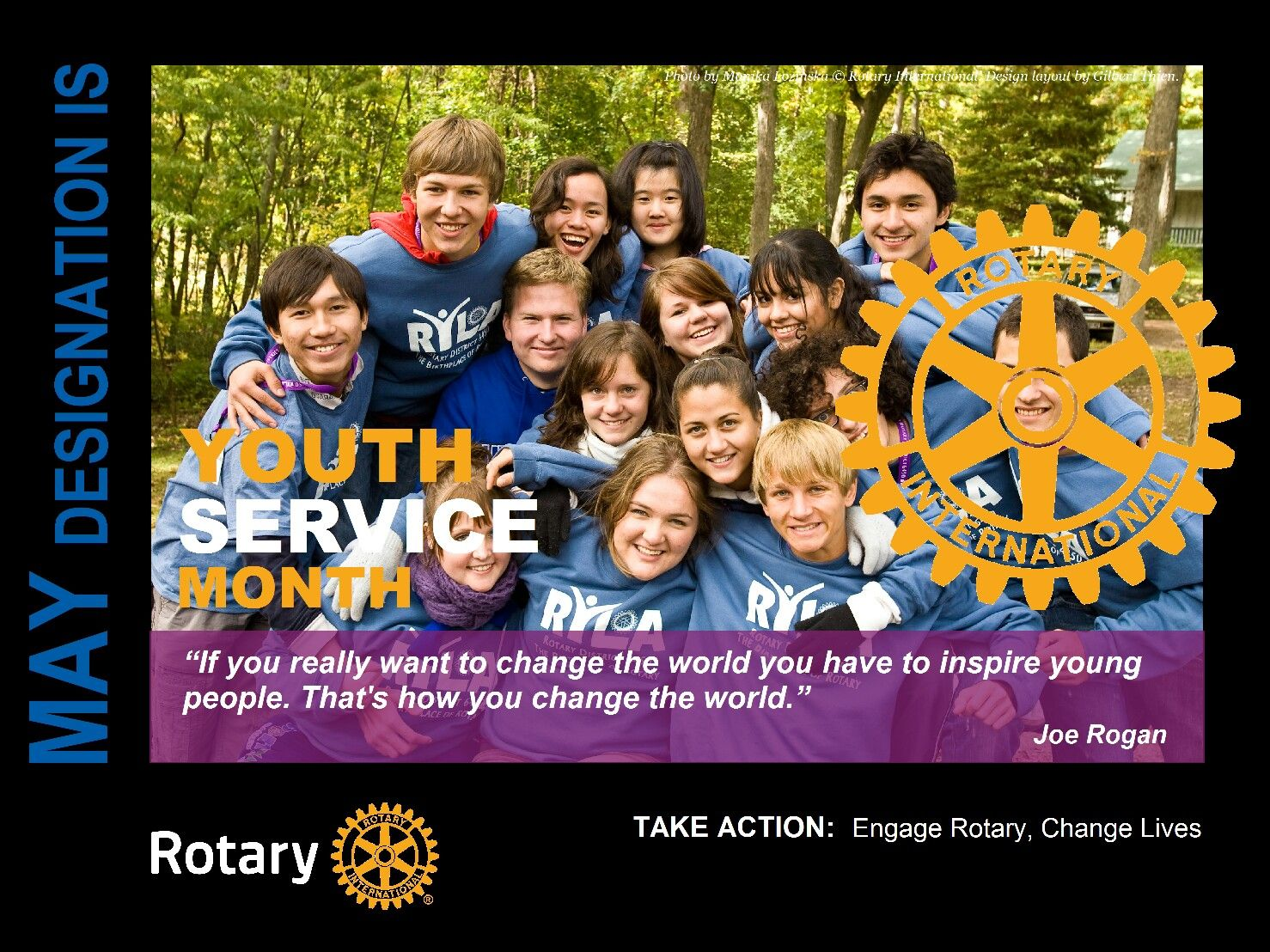Image result for rotary month may