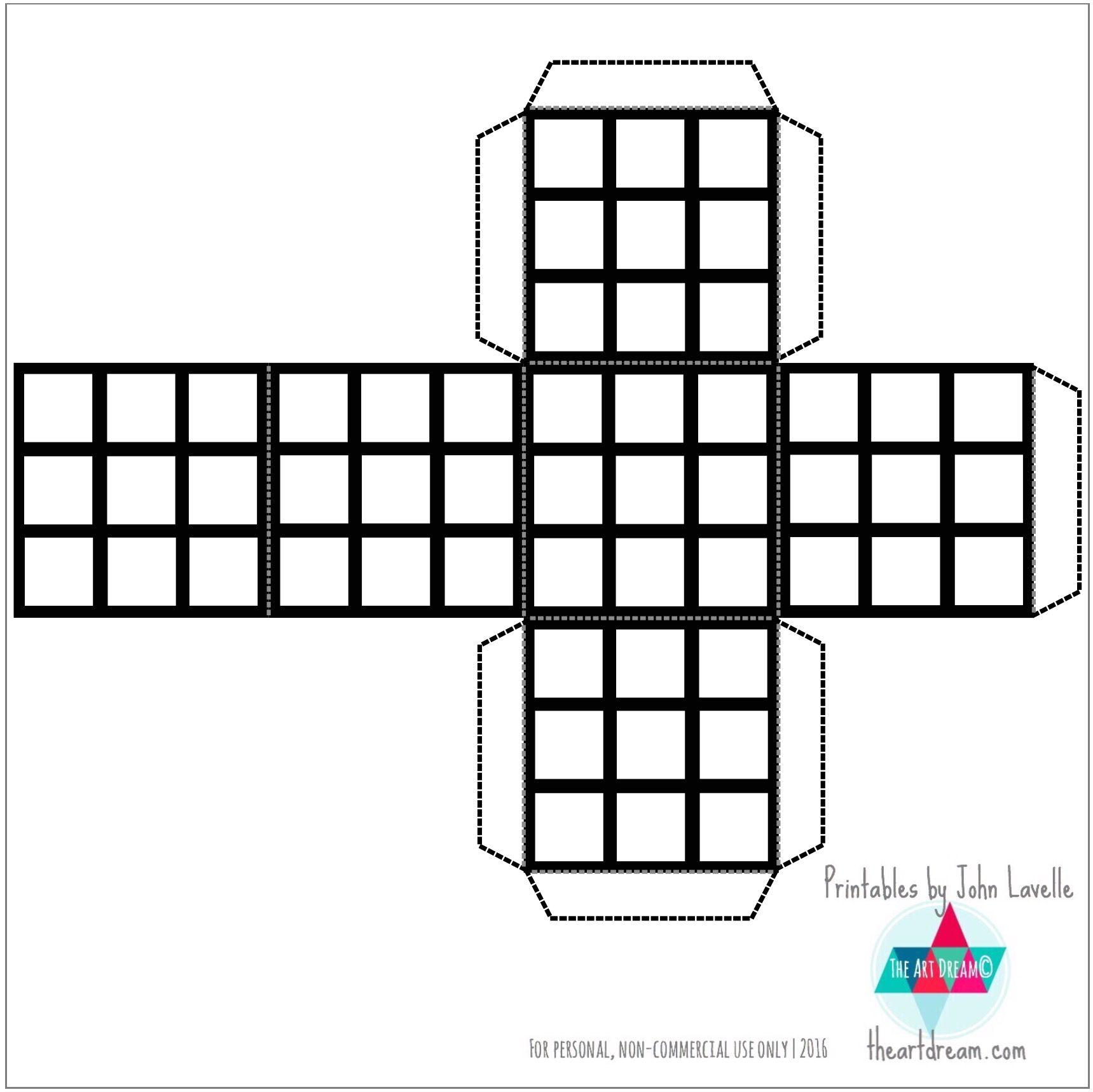 Rubik S Cube Printable Google Search Cube Template Rubiks