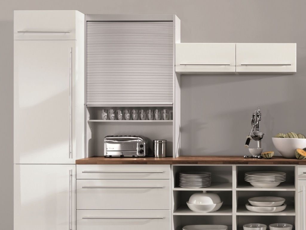 Küchen-design-schrank bildergebnis für küche rollo schrank  küche versteckt  pinterest