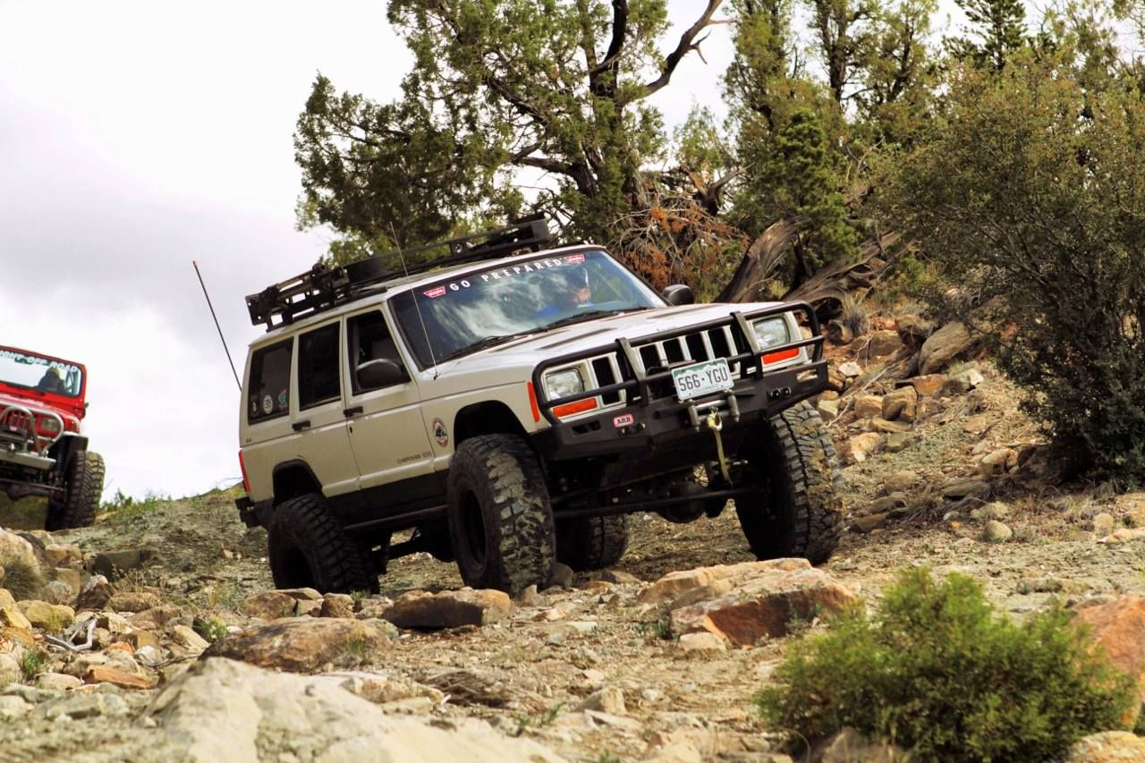 Lots Of Different Kinds Of Jeeps On The Trails During The Rock Junction  2013 Off Road Event.