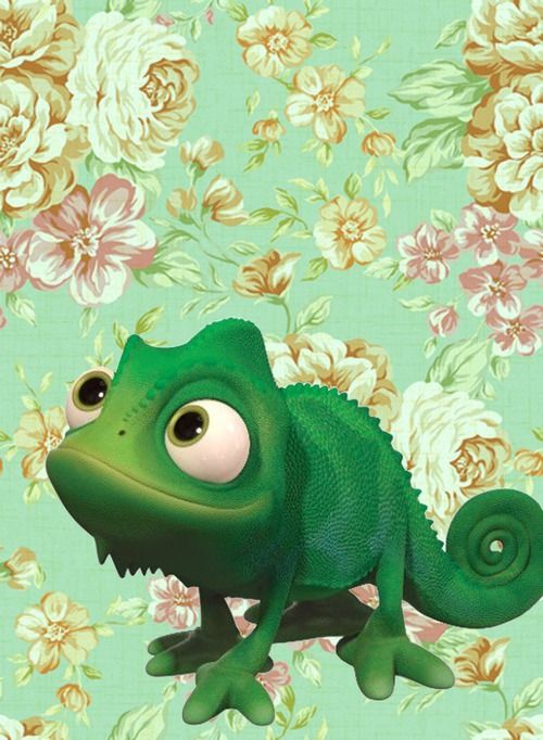Pascal Background Tangled Wallpaper Disney Background Disney Wallpaper