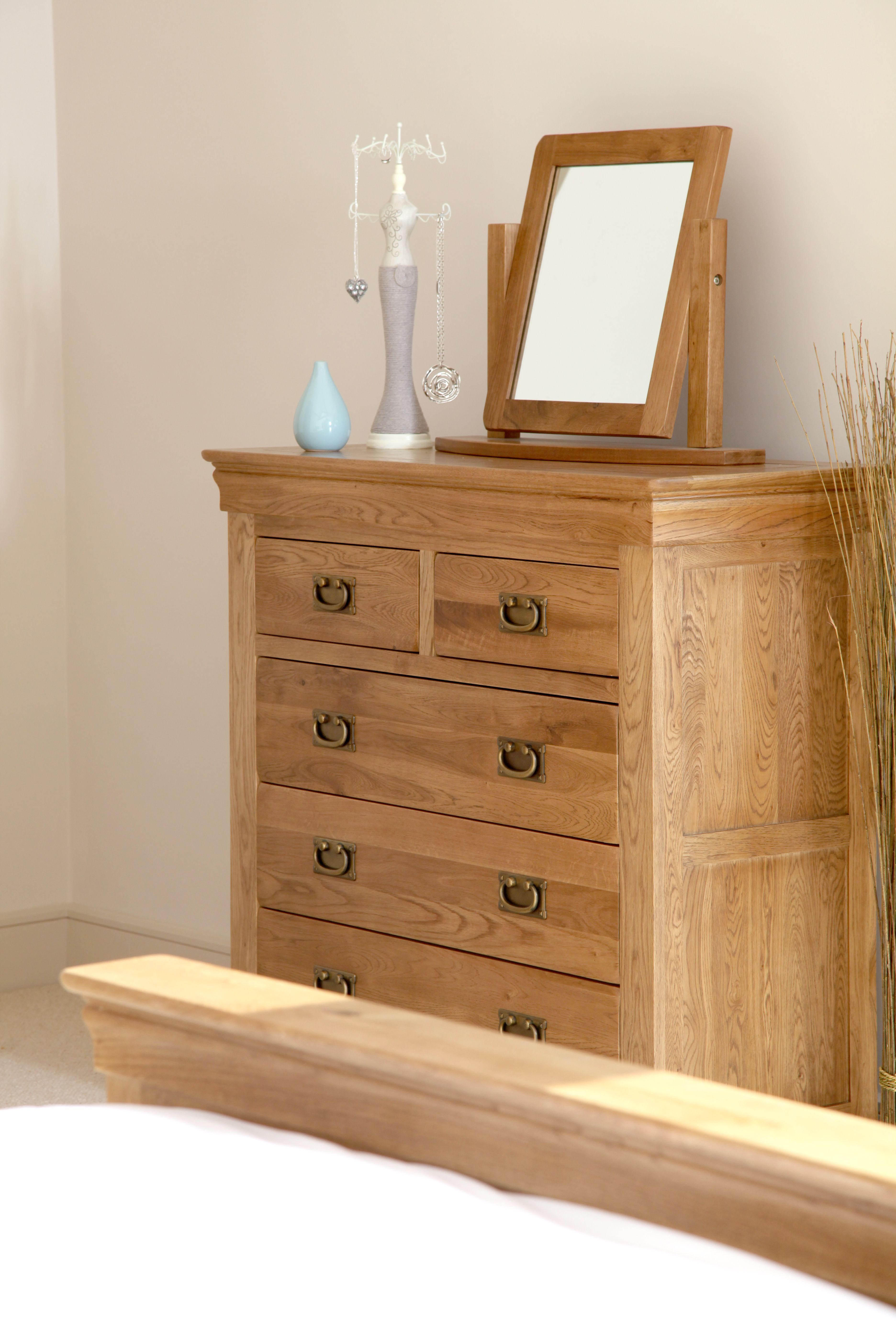 French Farmhouse Solid Oak Bedroom Furniture Oak Furniture