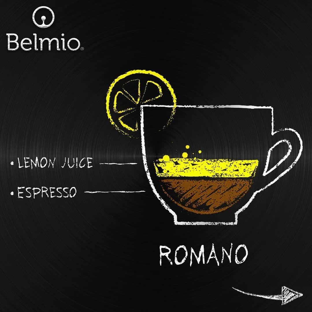 طريقة تحضير اسبريسو رومانو ويمكنكم استخدام الاسبريسو من كبسولات بيلميو الفاخرة لتوصيل الطلبات عبر الموقع الالكتروني Espressomachine Espressobar