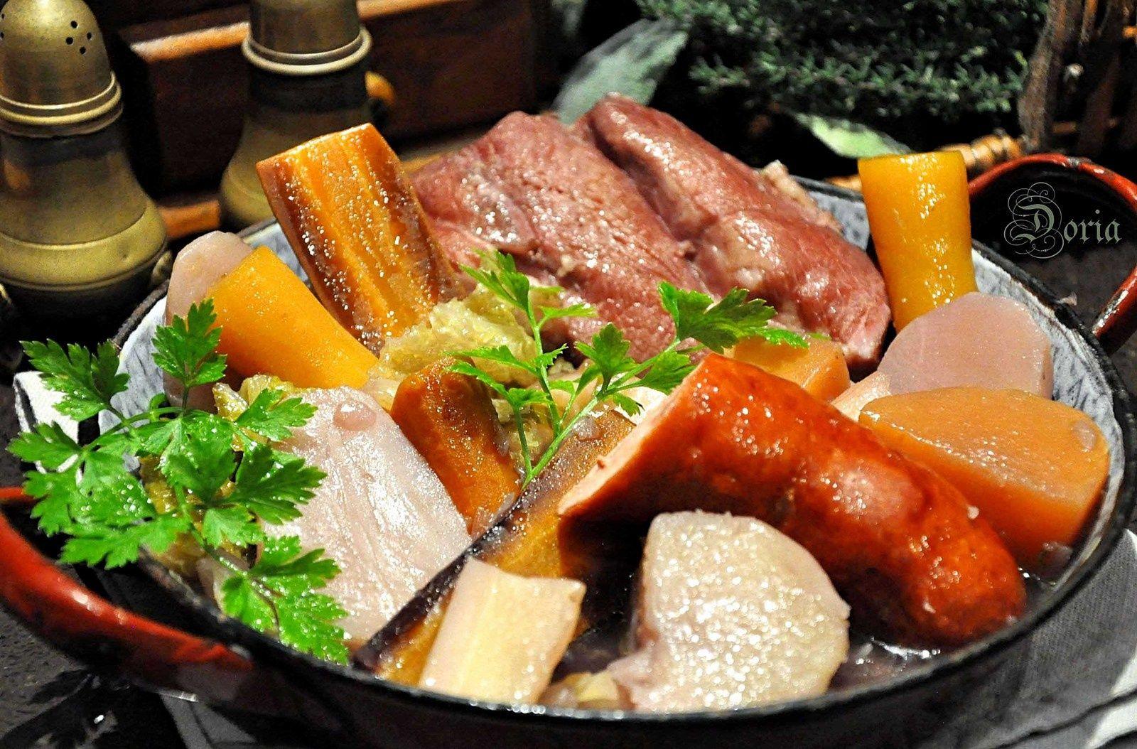 Potée aux légumes anciens - La cuisine de Doria #poteechouvert