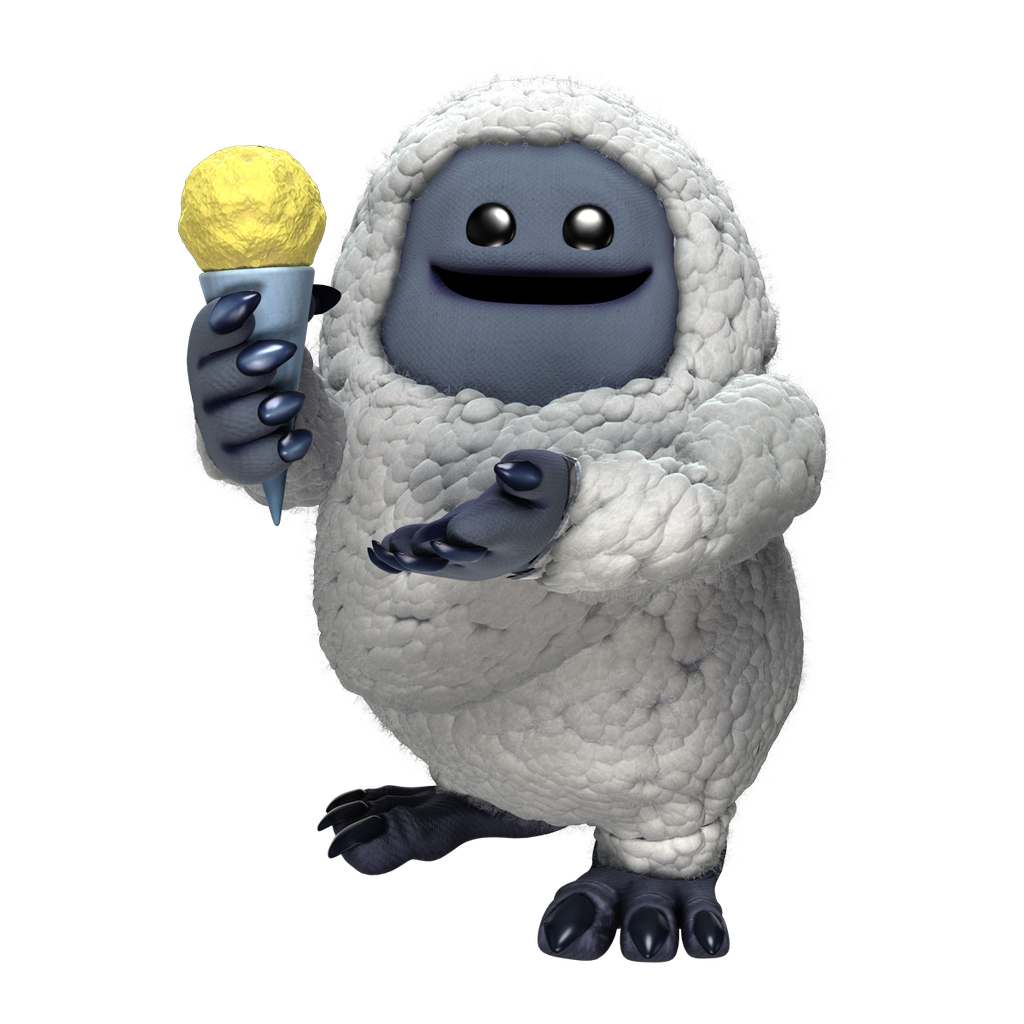 Monsters Inc Abominable Snowman Boo Coming To Littlebigplanet Diskingdom Com Disney Marvel Star Wars Video Game News Monsters Inc Abominable Snowman Character Modeling
