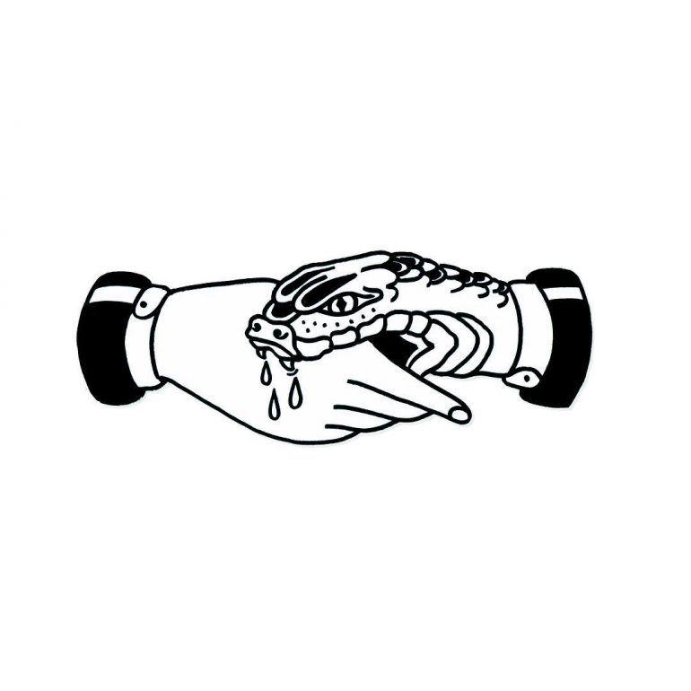 Trust No One Drawing | Tattoos, Tattoo designs, Snake tattoo