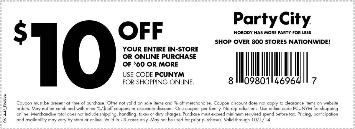 Check Out Offers From Party City Using Geoqpons App On Your Phone Visit Www Geoqpons Com Printable Coupons Free Printable Coupons Coupons
