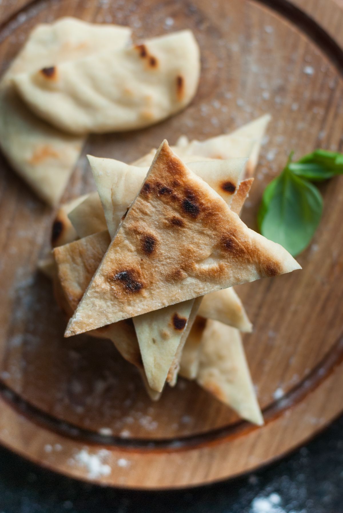 Indisches Naan-Brot (ohne Hefe) - Kichererb.se