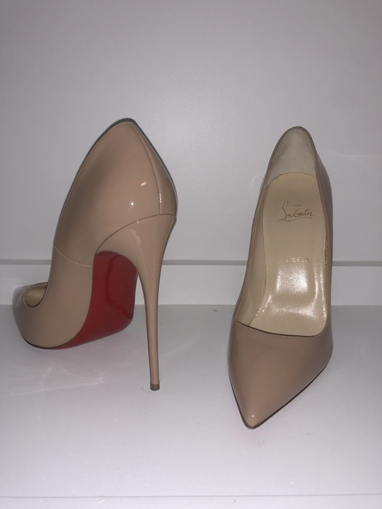 4ddbc037cec christian louboutin Nude so Kate size 41 #fashion #clothing #shoes ...