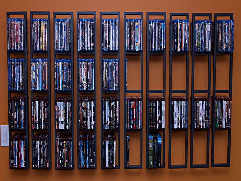 have too many dvds try these clever dvd storage ideas for solutions rh pinterest com dvd storage ideas ikea dvd storage ideas diy
