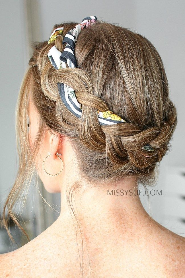 16 Cute Stylish Hairstyles For The Gym Tutorials Kat Blossom In 2020 Hair Scarf Styles Scarf Hairstyles Stylish Hair
