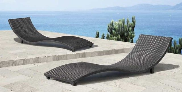 furniture modern outdoor lounge chairs - Garden Furniture Loungers