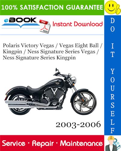 2003 Victory Polaris Vegas Motorcycle Service Repair Manual Victory Vegas Repair Manuals Victorious