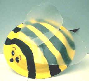 Hereu0027s a super easy bumblebee craft from a paper plate/ bowl. Materials paper bowl yellow paint black paint paint pen or marker wax paper. & abejita | Imágenes | Pinterest | Bees Paper plate crafts and Craft