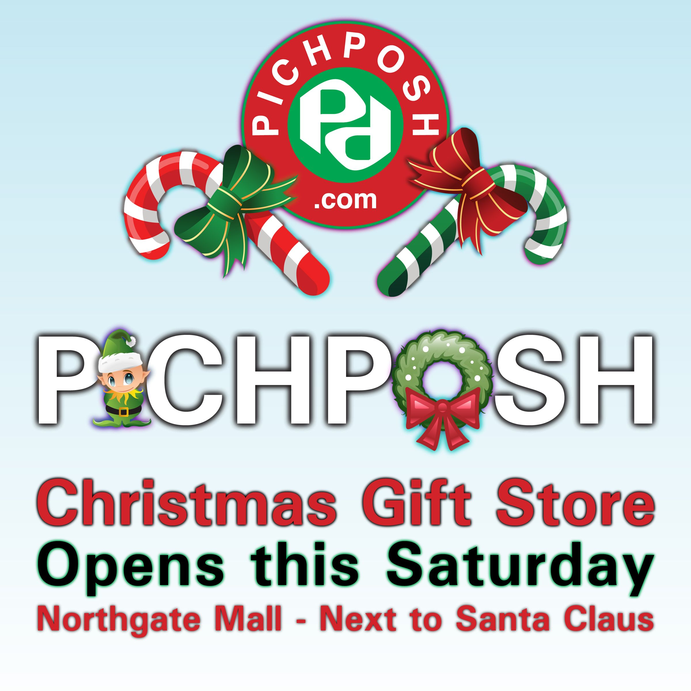 PICHPOSH  Christmas Gift Store Opens this Saturday at the Northgate Mall.   ★★★New Location★★★ Next to Santa Claus. Have a Canadian Christmas and give PICHPOSH -  Handmade in Canada  High Quality Bath & Body Products. Come visit us, we open Saturday November 29 - Northgate Mall Regina Saskatchewan  -  Visit PICHPOSH.com  #bathbomb #bathbombs #fun #gift #gifts #christmas #festive #bathandbody #cool #design #graphicdesign #artistic  #shopping #regina #sasktechewan #shopcanada #pichposh