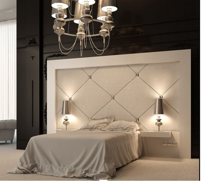 Pictures Of Bedroom Decor love the quilted back wall! not keep on the rest of the room, the