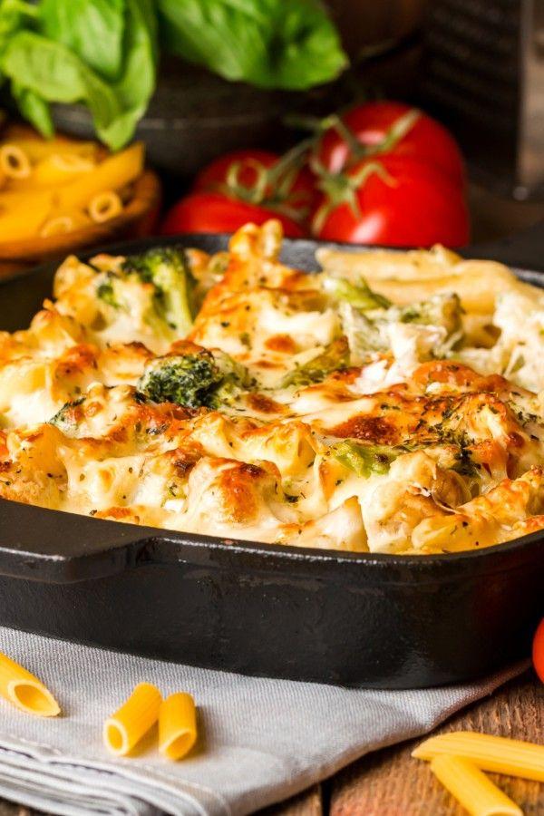 Photo of Pasta bake with broccoli & cauliflower