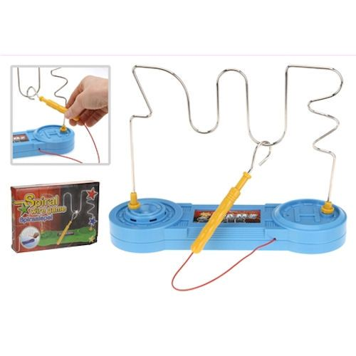 Lightning Electronic Buzz Wire Game Toy Test You Your Families Skill