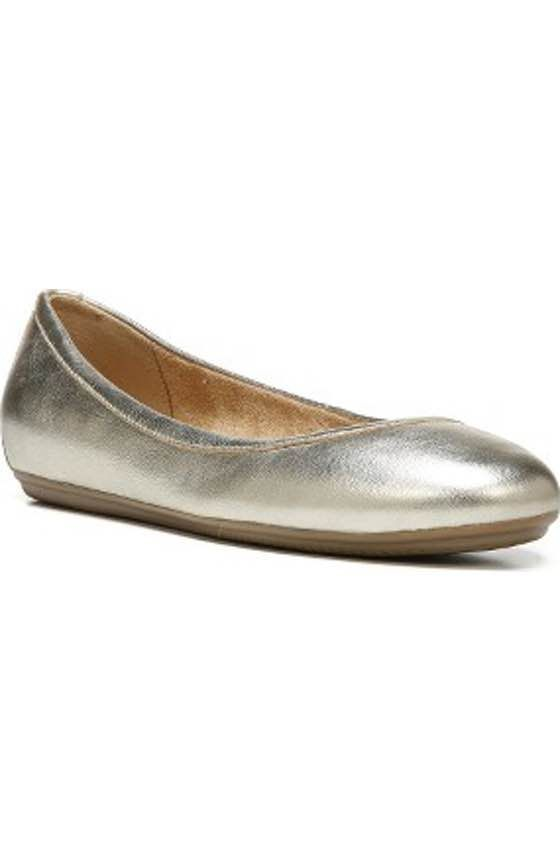 c8d650f9174c Free shipping and returns on Naturalizer Therese Cap Toe Flat (Women) at  Nordstrom.com. A pretty cap toe and elasticated topline update a classic