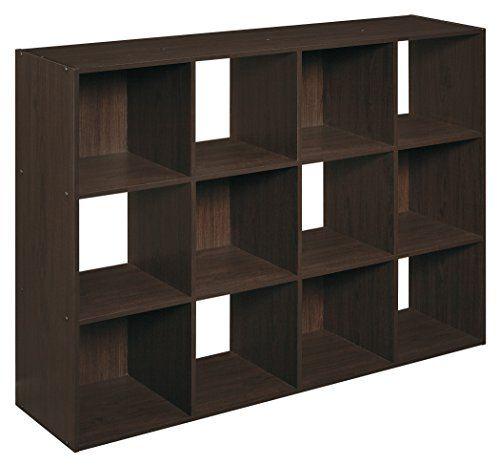 Closetmaid Cubeicals 12 Cube Organizer Espresso Closetmaid Http Www Amazon Com Dp B00h8rdtlu Ref Cm Sw R Pi Dp L06cv Cube Bookcase Cube Organizer Closetmaid