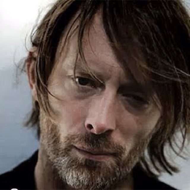 Tom York - this one is for the hubbo, he loves some Radiohead!