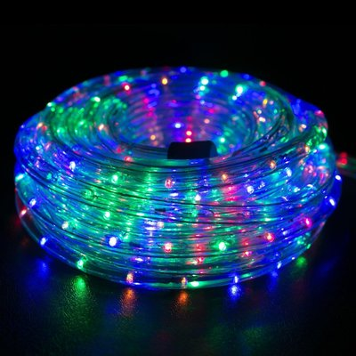 The Holiday Aisle Led Rope Light Size 0 5 H X 0 5 W X 600 D Color Blue Green Led Rope Lights Christmas Lights White Led Lights