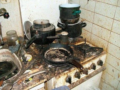 dirty kitchen pictures   Your Kitchen Is Probably Filthier …   wife on