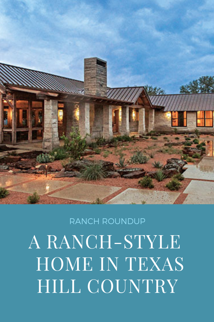 Ranch Roundup A Timber Home In Texas Hill Country Ranch Style Homes Timber House Ranch Style Home