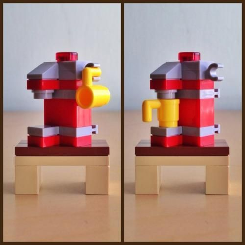 LEGO Set MOC-0824 Coffee Maker - building instructions and parts ...