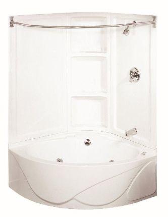 Lyons Seawave Iv Whirlpool System Bathtub Shower Combo Corner Tub Shower Corner Tub Shower Combo