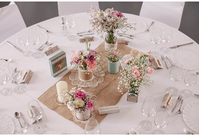 DIYHochzeit  Hochzeitsblog  tischdeko  Tischdeko