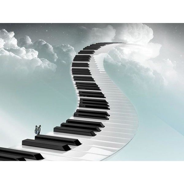 Colorful Piano Backgrounds 3d Piano Stairs Wallpaper 3d Abstract 1600 Liked On Polyvore Featuring Backgrounds Piano Stairs Heaven Wallpaper Piano Pictures