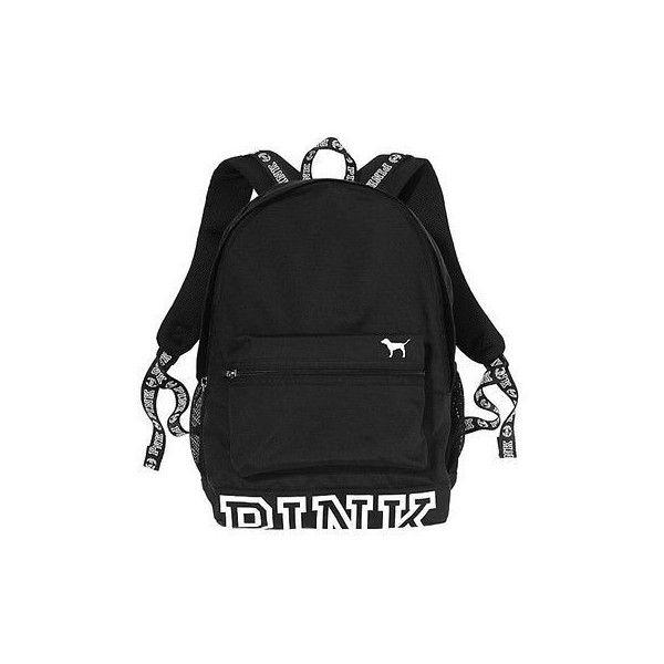 Victorias Secret PINK Campus Backpack 2016 Full Size Bookbag Laptop... ❤  liked on Polyvore featuring bags, backpacks, laptop rucksack, daypack bag,  pink ... e283febde2